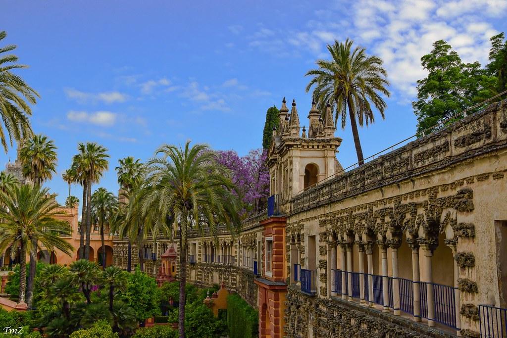 Les jardins de l'alcazar de Séville !!!