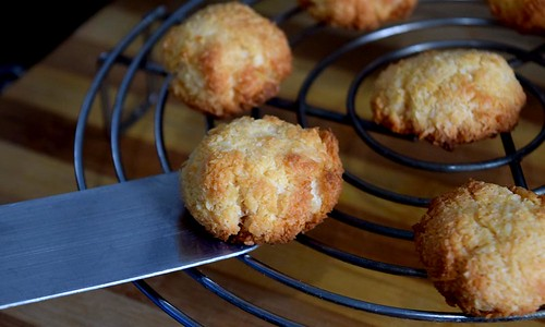 Coconut Macaroon Baked
