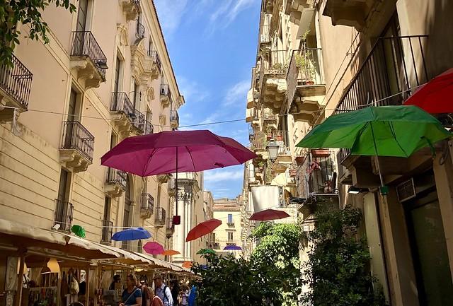 Street fair, Catania