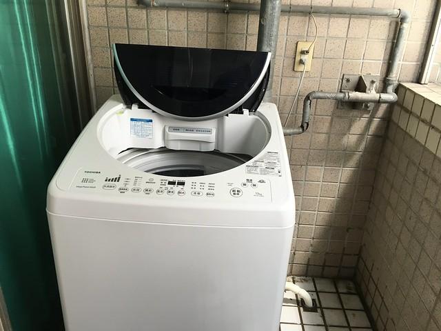 搬家買的洗衣機:TOSHIBA 東芝 13 公斤星鑽不鏽鋼 SDD 變頻洗衣機 (AW-DC13WAG)