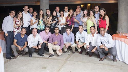 Cóctel de Grado Maestrías FCAE 2015-II