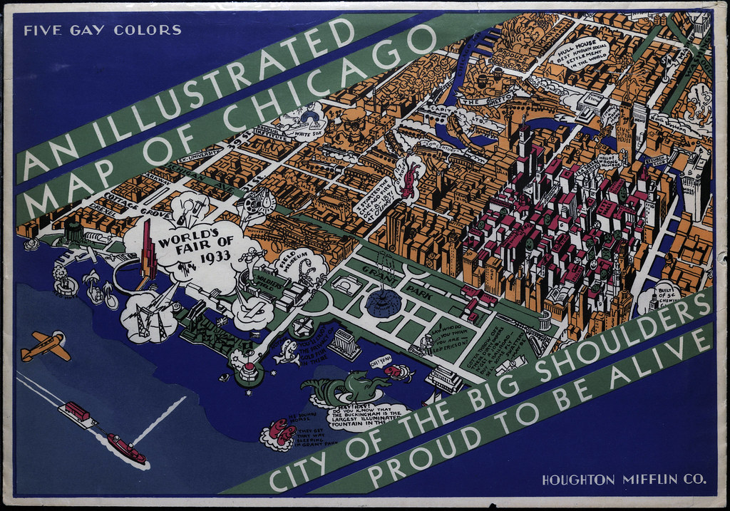 Illustrated Map of Chicago | DePaul University Liry | Flickr on north park map, charleston southern map, iona map, texas a&m map, u of iowa map, xavier map, auburn university map, fordham map, drexel map, seton hall map, northern illinois map, loyola map, liberty map, lincoln park map, u of miami map, museum park map, u of illinois map, university of illinois at chicago map, quinnipiac map, texas wesleyan map,