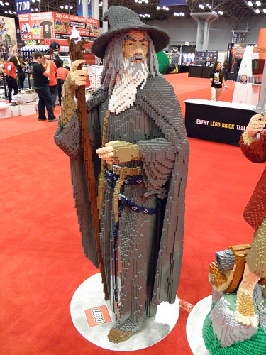 LEGO Booth Statue Gandalf