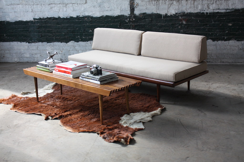 Terrific Crisp Danish Mid Century Modern Walnut Daybed Sofa U S A Alphanode Cool Chair Designs And Ideas Alphanodeonline