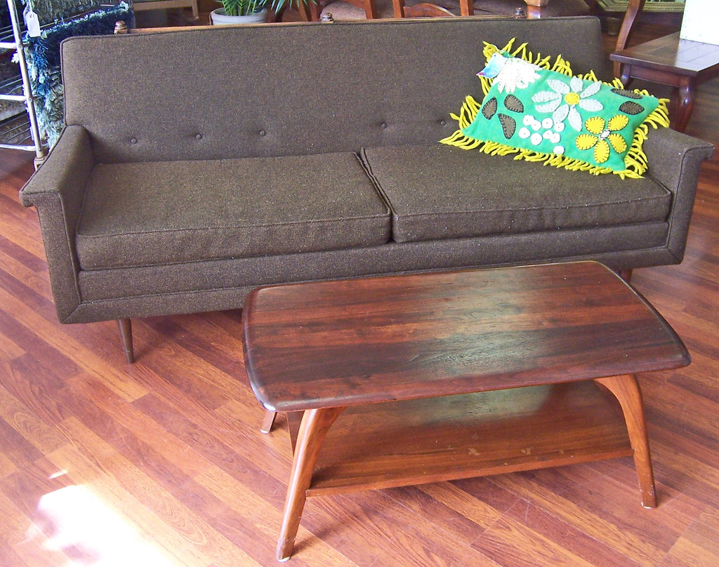 Terrific 60S Kroehler Furniture Love Seat Danish Modern Coffee T Caraccident5 Cool Chair Designs And Ideas Caraccident5Info