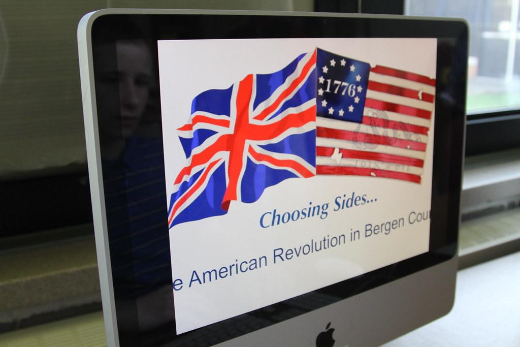 American Revolution Game - Classroom Closeup, NJ
