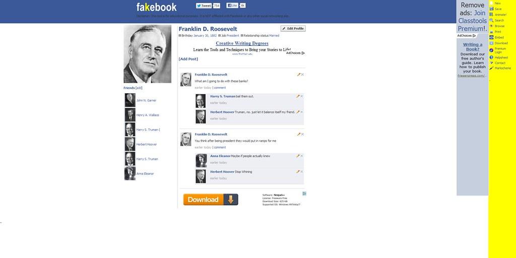 Fake facebook profile picture generator