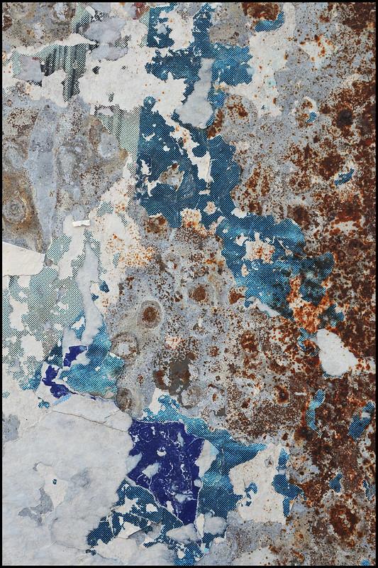 Wuppertal-Oberbarmen. Schattierungen von Weiß, Blau und Braun / Shades of white, blue, and brown