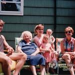 With grandma Serko