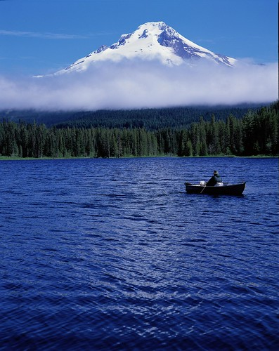 Trillium Lake Fishing - vertical - 038 | by Mt. Hood Territory