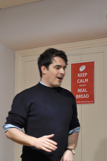 Tom Herbert at the Real Bread Campaign gathering 24JAN13 | by Real Bread Campaign