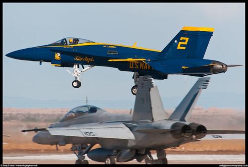 F/A-18C Hornet - Blue Angels | by evansaviography