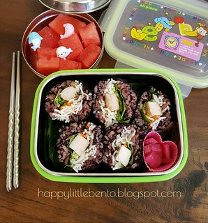 Pork and Veggies Makizushi Bento | by sherimiya ♥