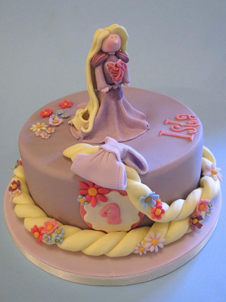 Sensational Rapunzel Birthday Cake Rapunzel Rapunzel Let Down Yo Flickr Birthday Cards Printable Inklcafe Filternl