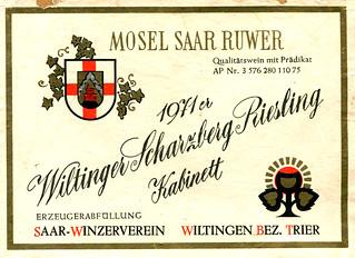 1971 - Wiltinger Scharzberg (Saar)
