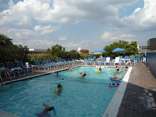 Piscina/Pool, Holiday Inn Washington – Capitol Hotel, Washington DC 2012, USA - www.meEncantaViajar.com