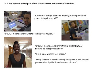 BOOM! Student Perspectives