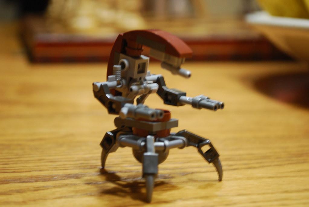Lego Star Wars Custom Droideka Destroyer Droid I Know A Lo Flickr