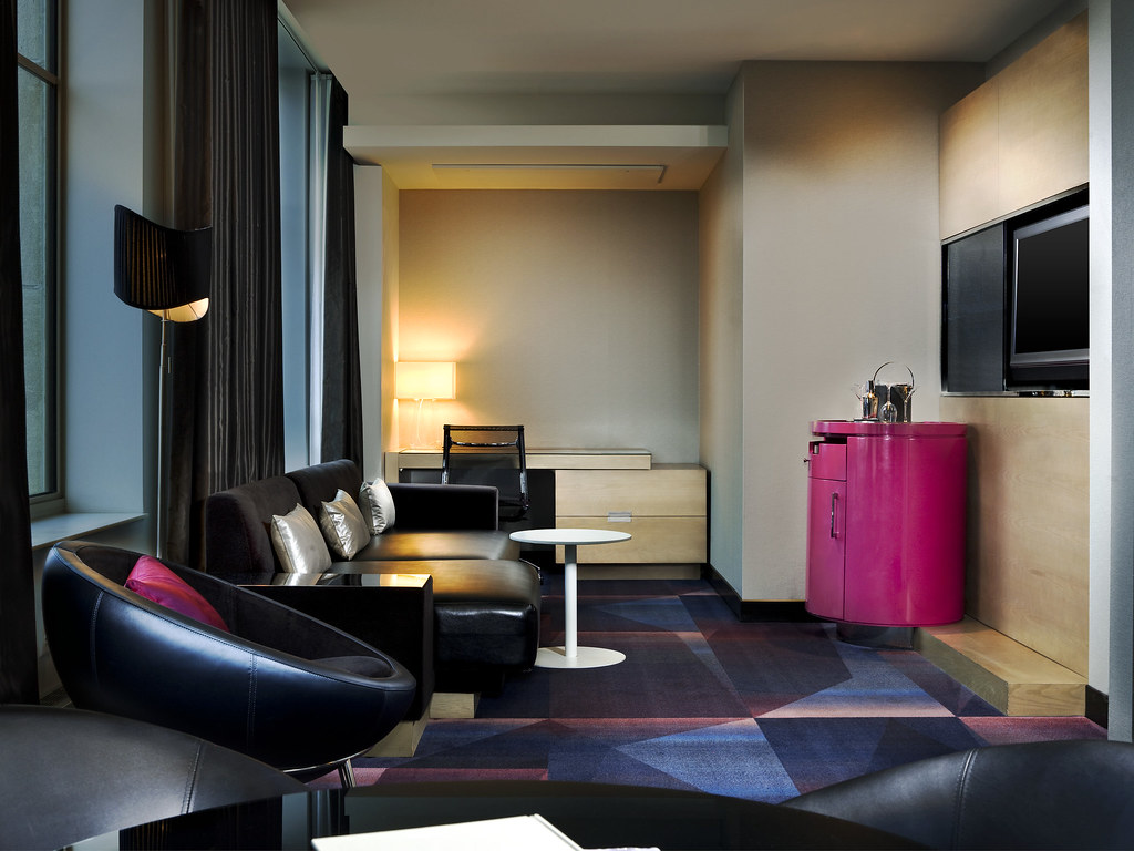 ... W Minneapolis   The Foshayu2014Fantastic And Marvelous Suites   Living Room  | By W