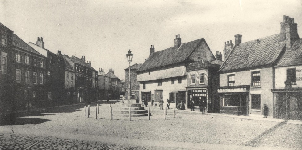 Howden Market Place 1871 (archive ref DDEY-1-193)