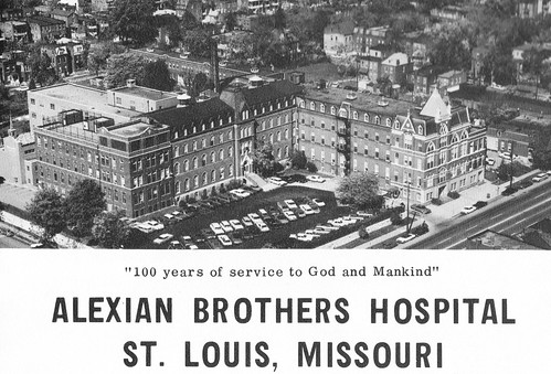Alexian Brothers Hospital Ad St. Louis, MO 1968