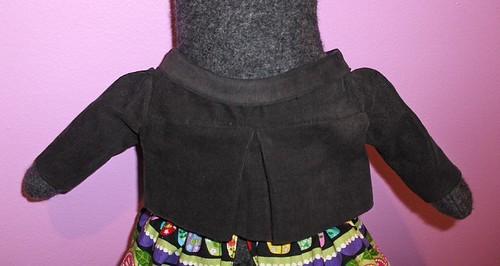 friend Kitty Doll, Corduroy Jacket Back