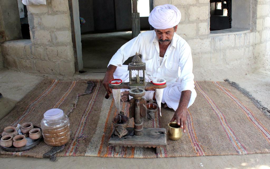 Art and craft in Bishnoi Village