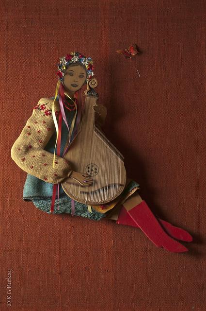 Bandurist Female Figure #1