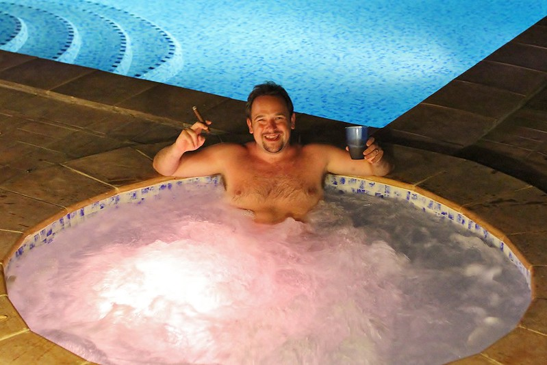 Me In Jacuzzi