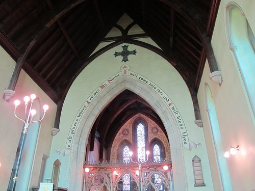 light christchurch canada church parish stone arch cross historic christian fredericton newbrunswick anglican 1847 churchofengland
