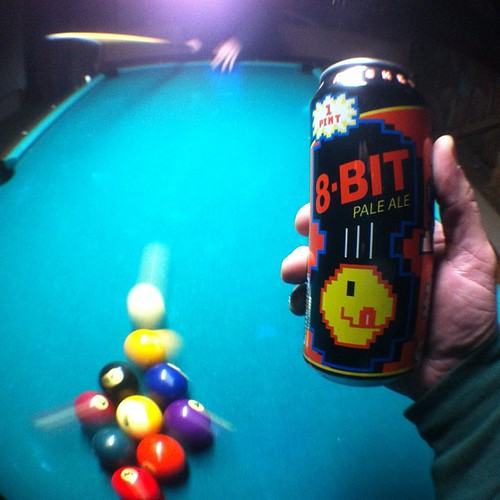 8 Bit 9 Ball   by drewdomkus