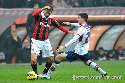 AC Milan VS Bologna FC 2-0   Serie A TIM 2012/13   A.C ...
