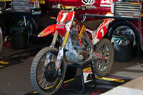 Eli Tomac's Bike