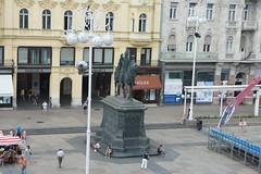 Zagreb: Trg bana Josipa Jelačića