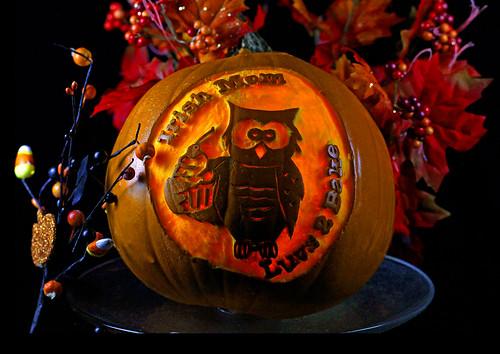 Pumpkin lit Up