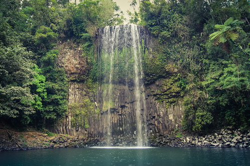 australia waterfalls queensland moregatta