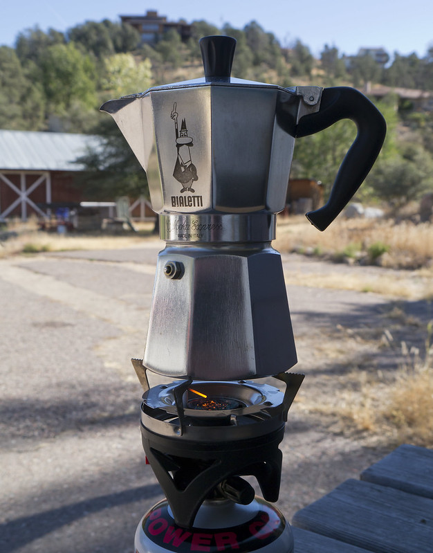 Moka Pot on a JetBoil