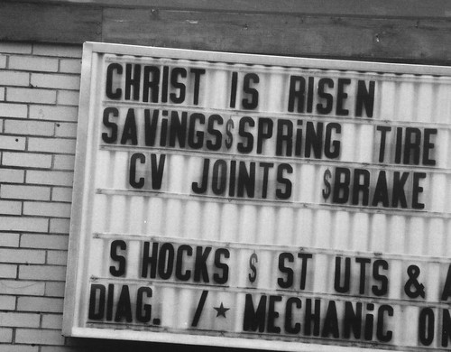 christ is risen tires | by AlfanoCommunications