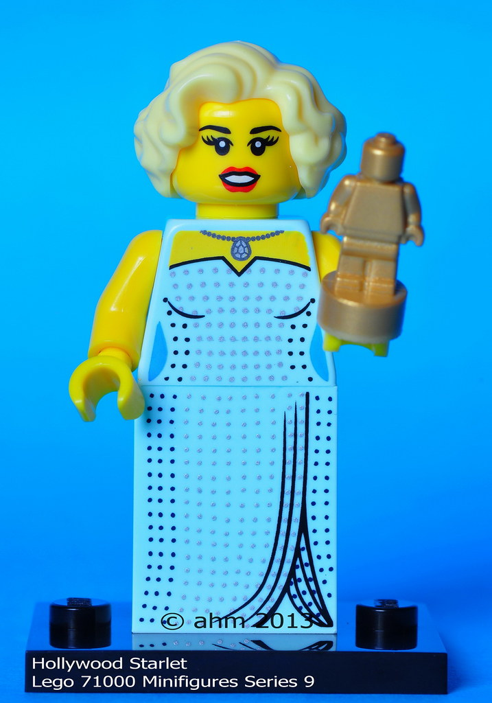LEGO 71000 Series 9 Minifigure Minifig Hollywood Starlet
