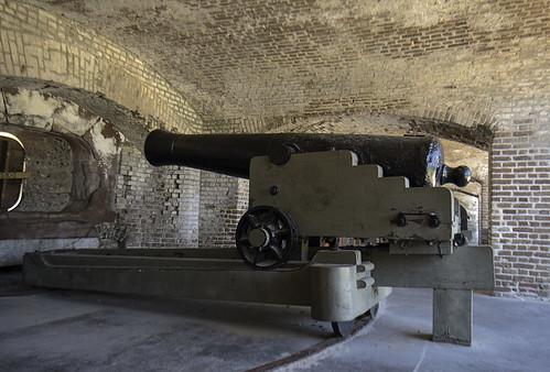 Civil War Gun and Carriage