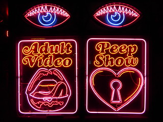 Adult Video Peep Show - This is actually Mexican restaurant … - Flickr