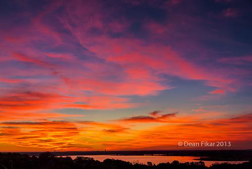 park city sky orange lake nature water colors beauty sunrise landscape outdoors dawn pond texas unitedstates outdoor horizon scenic dramatic nobody fortworth benbrook manmadelake benbrooklake urbanlake bodyofwater nonurbanscene