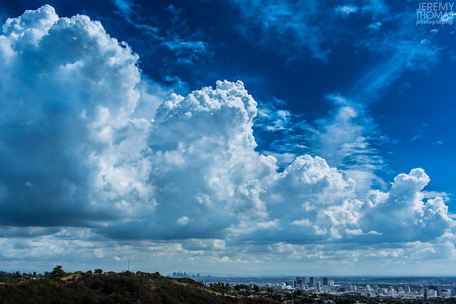 Cumulus Clouds Over Los Angeles