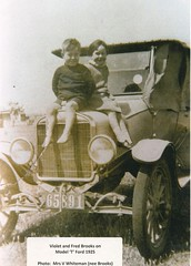 Violet and Fred Brooks c1930