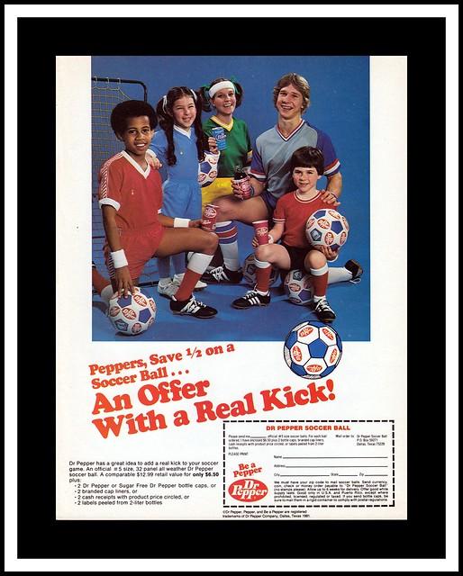 Dr. Pepper Soccer, 1981