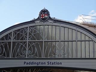 081 - Paddington Station roof   by Randomly London