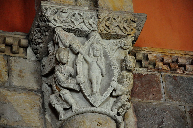 204 - Capitel Salvación del Alma - Basílica San Isidoro de León (Spain).
