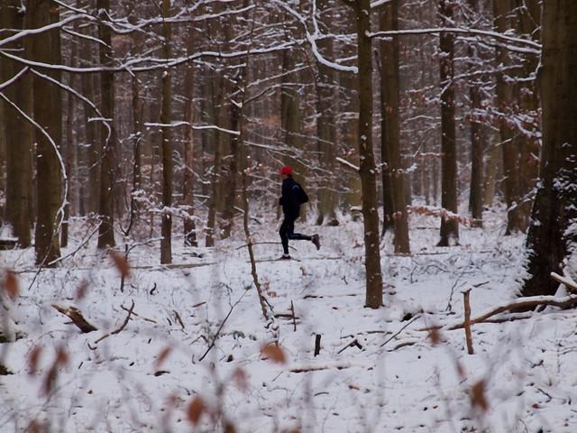 Jogging d'hiver