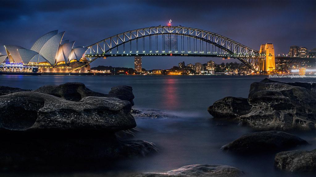 ... Sydney Harbour Wallpaper 1920x1080   by Mr Matboy