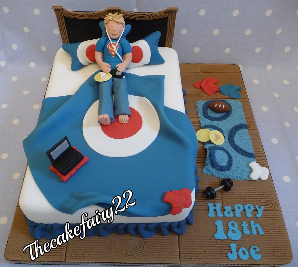 Teenage Bedroom Cake